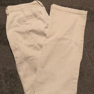 Old Navy Tan Khakis The Sweetheart Size 2